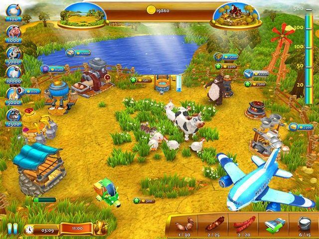 Посмотреть скриншот Веселая ферма 4. Популярные игры за сегодня.
