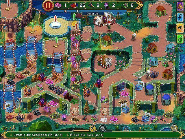 Screenshot  «Incredible Dracula IV: Spiel der Götter» № 3