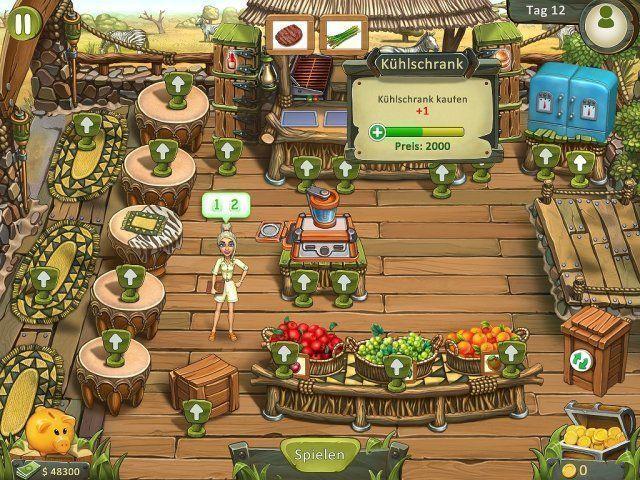Screenshot  «Katy and Bob: Safari Cafe. Collector's Edition» № 4
