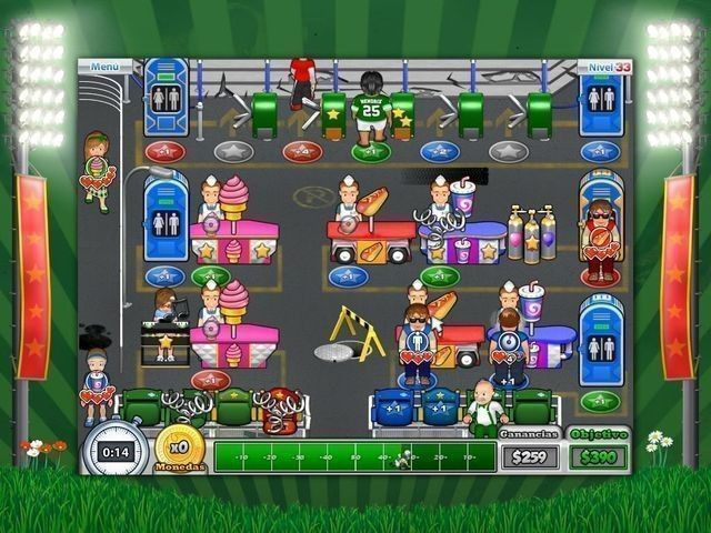 Busy Bea's Halftime Hustle en Español game