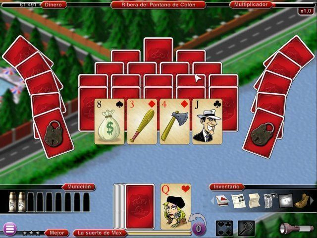 Crime Solitaire 2: The Smoking Gun en Español game