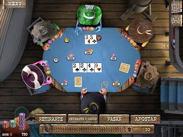 Juego del gobernador del poker completo gratis