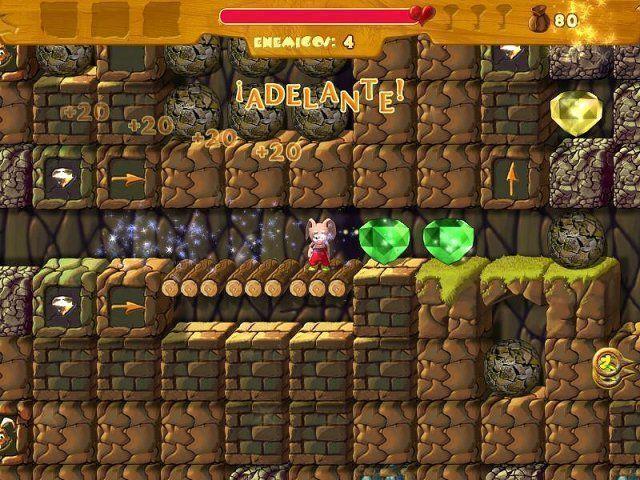 Rabbit's Magic Adventures en Español game