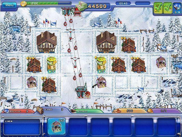 Ski Resort Mogul en Español game