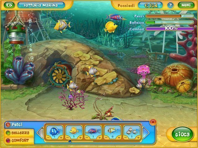 Gioco Fishdom 2 download italiano