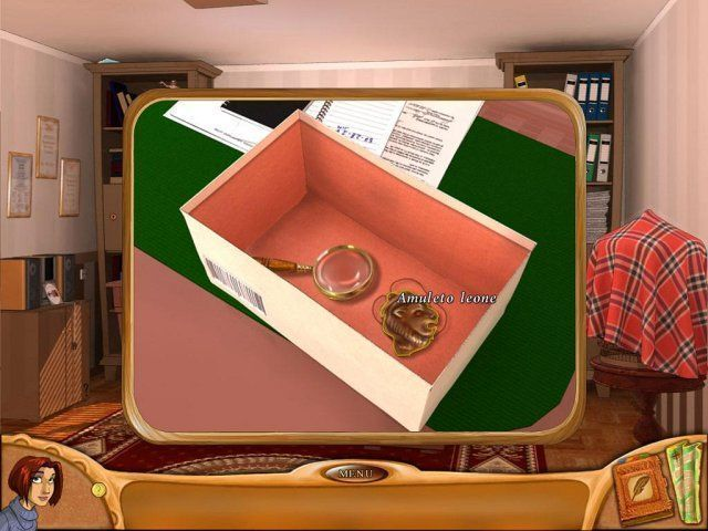 Natalie Brooks. Secrets of Treasure House game