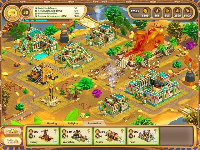 Ramses: Rise of Empire. Collector's Edition Gra Bezpłatne