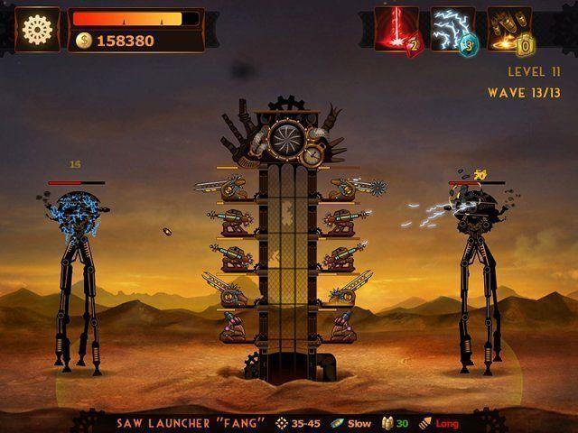 Bezpłatne pobieranie Steampunkowa Wieża: Gra Defense