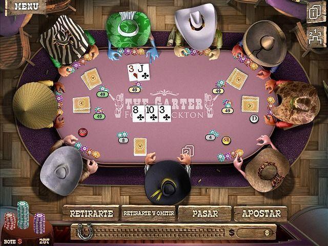 Juegos de poker 2 jugadores gratis