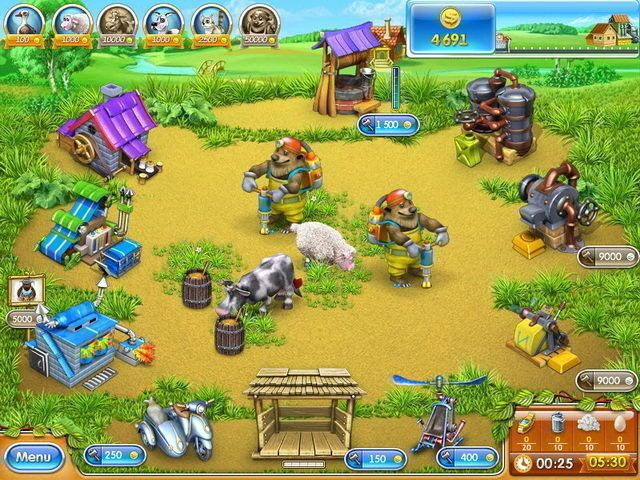 Farm Frenzy 3: Roulette Russe
